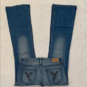 YMI Juniors Flare Bottom Jeans  Size 5